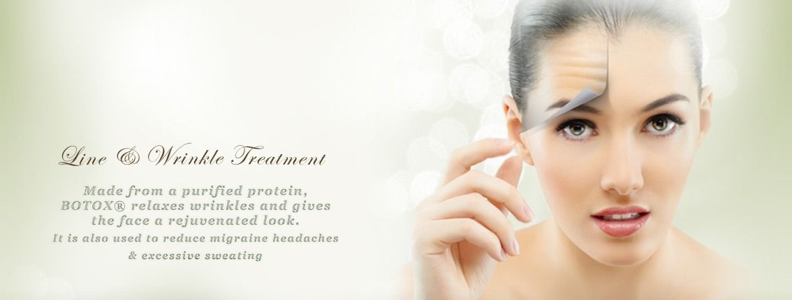 Line & Wrinkle Treatment